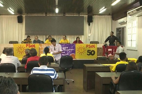 PSOL indicou Valdeny Barros, para concorrer ao cargo de prefeito de São Luís e Aline Maria dos Santos para disputar a vaga de vice