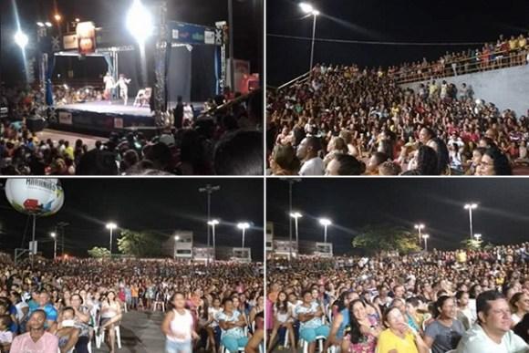 Apresentação na Praça do Anjo da Guarda teve maior público do espetáculo Pão com Ovo