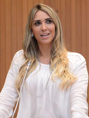 Deputada estadual Andrea Murad (PMDB)