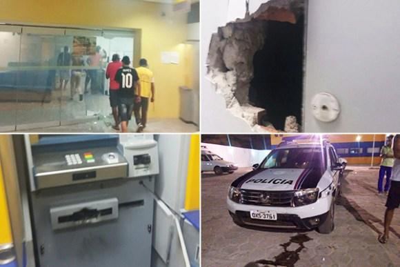 Este ano, 42 agências bancárias já foram alvo de bandidos no interior do Maranhão