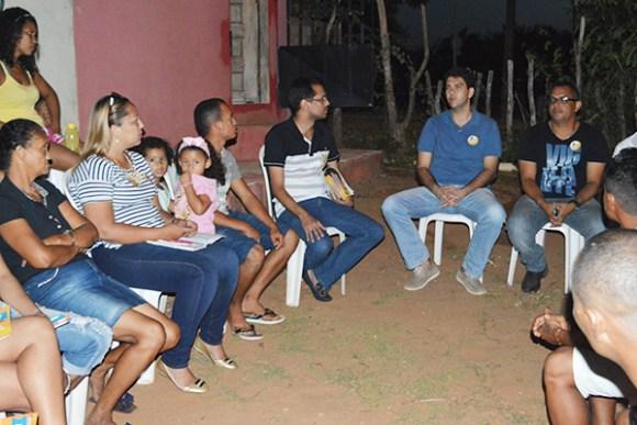 Candidato a prefeito Eduardo Braide (PMN) participa de reuniões na Zona Rural