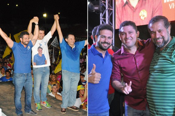 Gil Cutrim participa de ato político em Dom Pedro com Carlos Lupi e em Codó