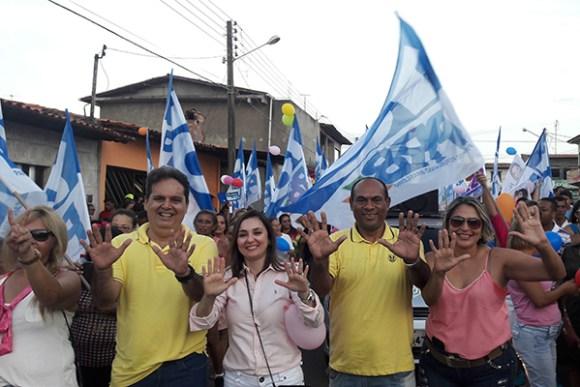 Mulheres de Paço declaram apoio ao candidato a prefeito Gilberto Aroso