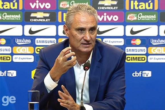 Tite convoca a Seleção Brasileira pela primeira vez e chama sete campeões olímpicos