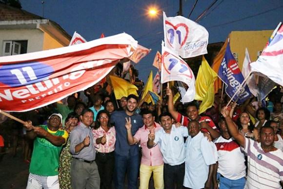 Wellington intensifica campanha nos bairros de São Luís neste fim de semana