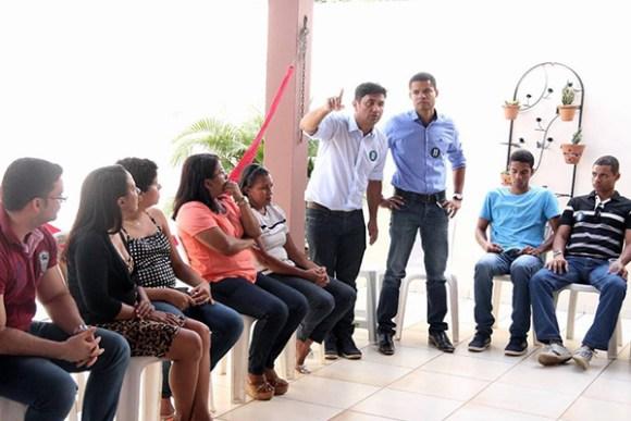 Wellington participa de encontro com amigos e famílias do Ipem São Cristovão