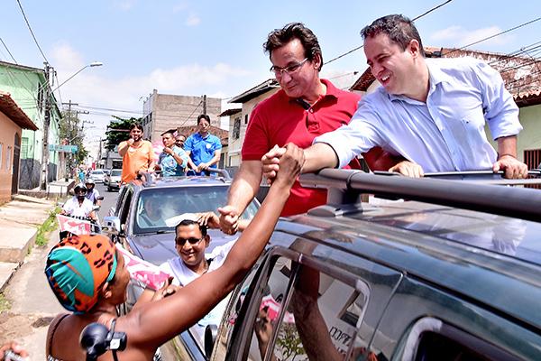 Carreata gigante empolga e confirma liderança de Edivaldo em São Luís