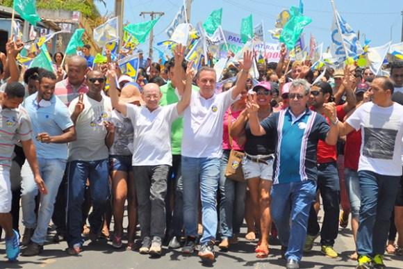 Luis Fernando reúne multidão e garante um novo momento político e administrativo para São José de Ribamar