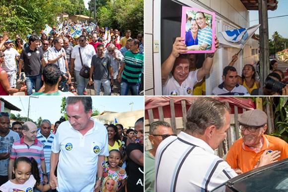 Luis Fernando defende um projeto de reconstrução de São José de Ribamar