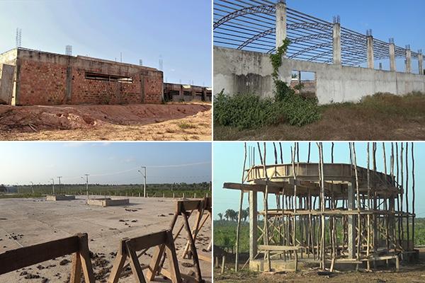 Obras do Estado paradas complicam a vida da população de Pinheiro