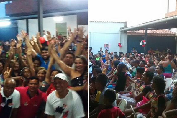 Vereador Pedro Lucas Fernandes é recebido com festa no Paraíso Show, no Coroadinho