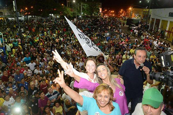 Coroatá intensifica corrida eleitoral e mostra a força da prefeita Teresa
