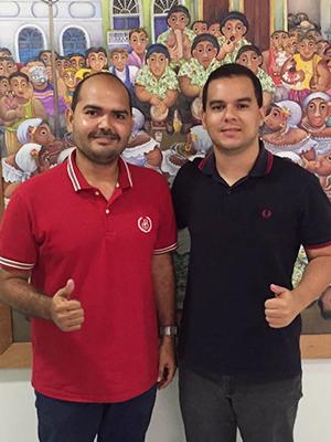 Anderson Wilker e Diego Galdino