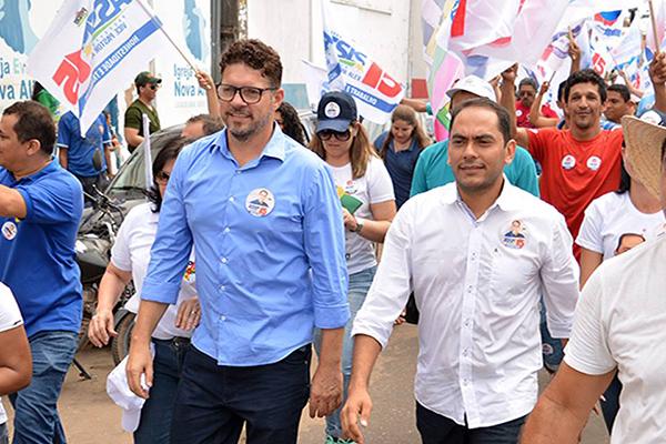 Terceiro colocados nas pesquisas, o delegado Assis Ramos vence a eleição em Imperatriz