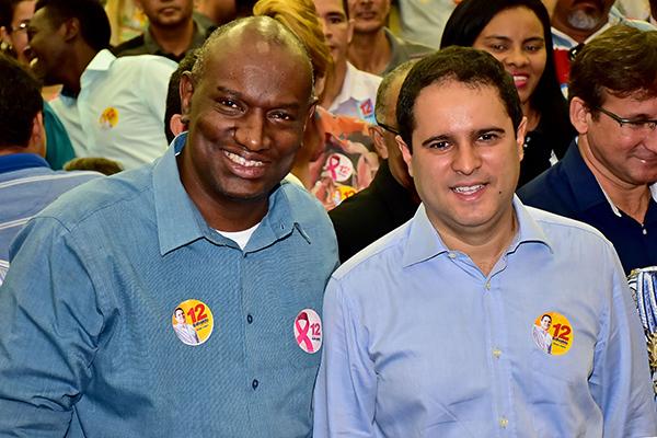Deputado estadual Cabo Campos declara apoioã reeleição de Edivaldo Holanda Júnior
