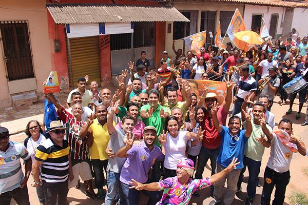 Eduardo Braide faz grande caminhada no São Cristóvão e Vila Lobão