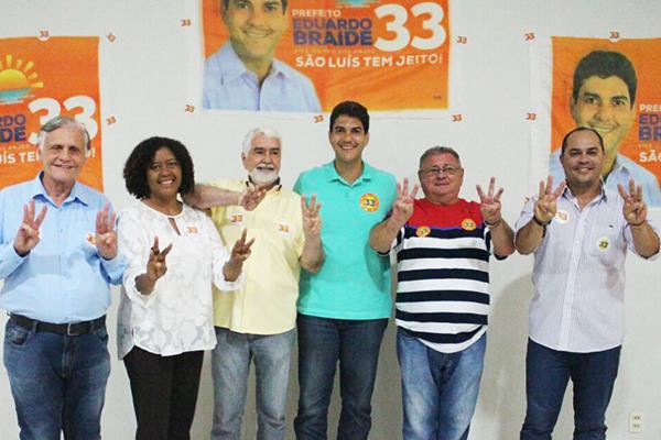 José Joaquim, Rose Sales, Sebastião Albuquerque, Eduardo Braide, Edmilson Jansen e Estevão Aragão