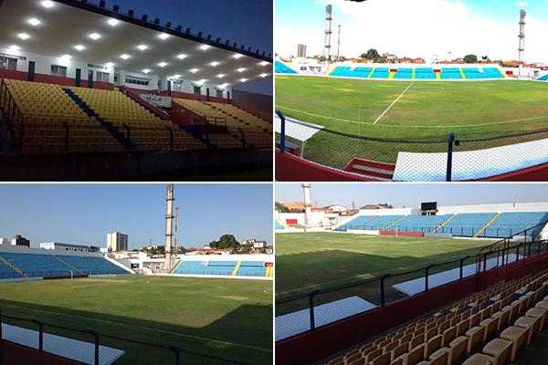 Com a reforma concluída, estádio deve ser entregiue aos despostistas nos próximos dias