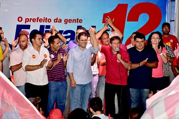 Nem o governador Flávio Dino e nem o secretário Márcio Jerry participaram da plenária