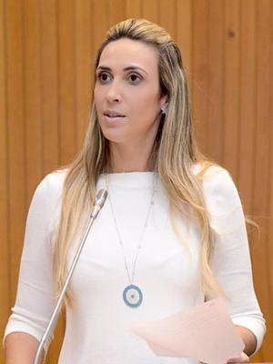 Deputada estual Andrea Murad (PMDB)