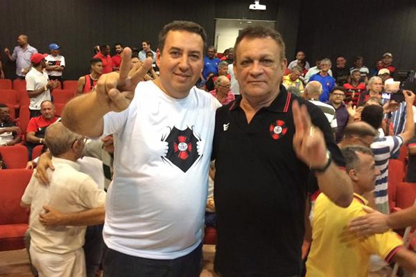 Célio Sérgio e Neco Figueiredo são aclamados presidente e vice do Moto Club