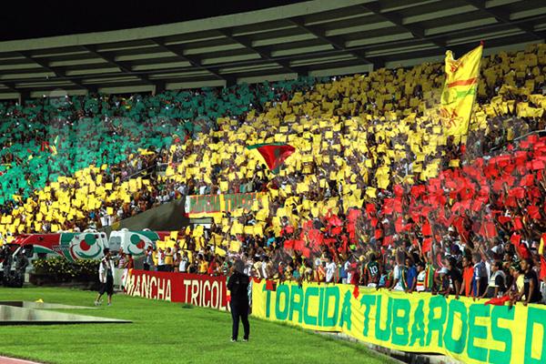 Arquibancada no setor 1 é o local mais procurado pela torcida Tricolor no estádio Castelão