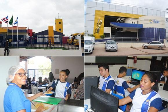 Novas unidades de ensino foram construídas; 30 laboratórios de informática foram implantados; número de matrículas aumentou; professores receberam cinco reajustes salariais; e Ideb do município cresceu e é um dos melhores do país.