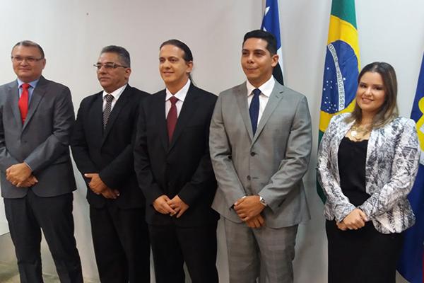 Prefeito eleito Fábio gentil e o vice-prefeito Paulo Marinho Jr. São diplomados em Caxias