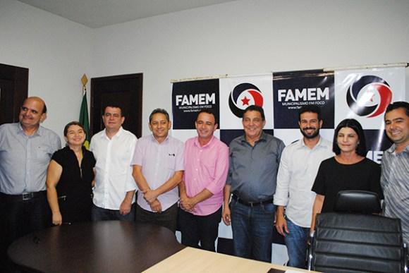 Prefeito de Tuntum Cleomar Tema registra candidatura para presidência da FAMEM