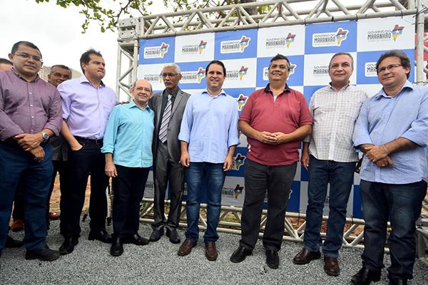 Edivaldo e Flávio Dino reforçam parceria e continuidade de ações para região metropolitana