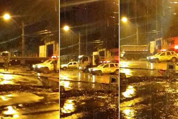 Movimentação intensa de veículos no imóvel alufado pelo Governo do Maranhão para a Funac