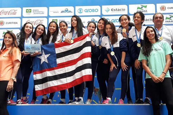 O Reino Infantil é campeão brasileiro de voleibol infantil feminino. As  maranhenses venceram com facilidade d400e0fd453da