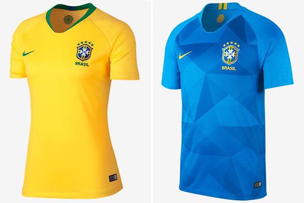 e2d588d708 Seleção Brasileira lança camisa para Copa da Rússia - Zeca Soares