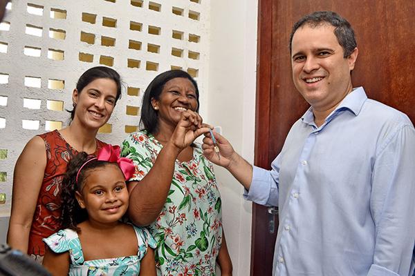 """a072bc46a Mais 448 famílias de São Luís receberam nesta quinta-feira (19) imóveis do """"Minha  Casa"""