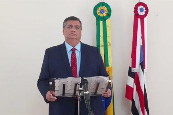 Flávio Dino anuncia o bloqueio da Rua Grande - Zeca Soares