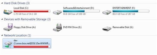 box.net network drive