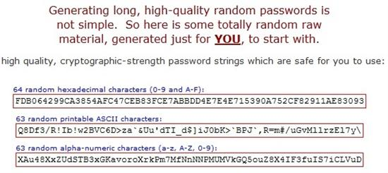 GRC ultra high security password generator Custom 5 Websites to Create Strong and Easy to Remember Passwords for Daily Use
