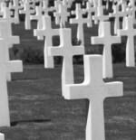 Wartime Crosses Monochrome