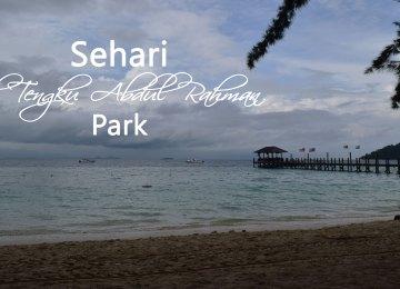 Sehari di Tunku Abdul Rahman Park, Surga Baharinya Sabah