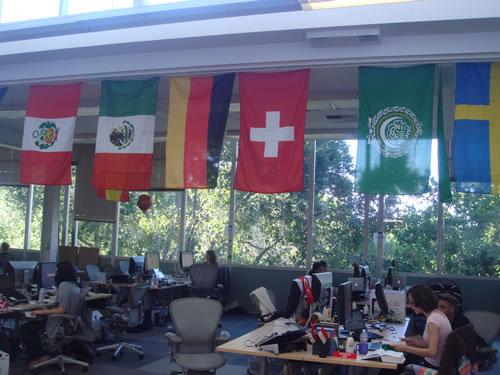Auch die Schweizer Fahne hängt bereits bei Facebook