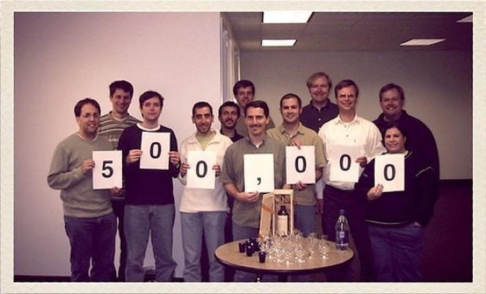 April 2004: 500'000 LinkedIn Mitglieder
