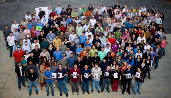 Mai 2009: 40 Millionen LinkedIn Mitglieder