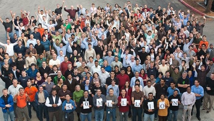Oktober 2009: 50 Millionen LinkedIn Mitglieder