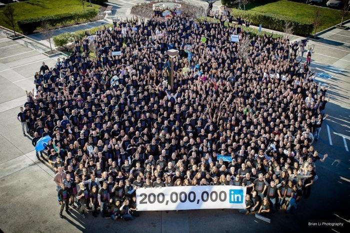 Februar 2013: 200 Millionen LinkedIn Mitglieder