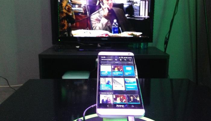 HTC mit TV Fernbedienung