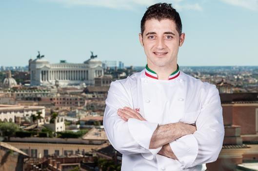 Fabio Ciervo do Hotel Eden de Roma recebe Estrela Michelin