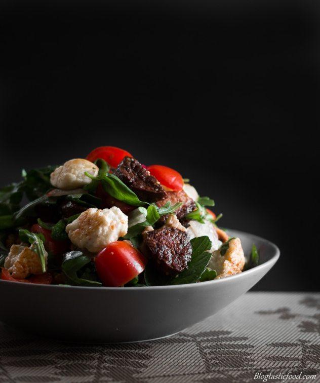 Epic Crouton, Walnut, Halloumi and Crsipy Chorizo Salad marked (6 of 1)