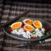 Soy Marinated Ramen Eggs