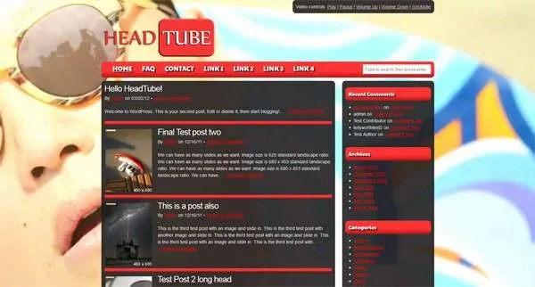 New Version of HeadTube Released