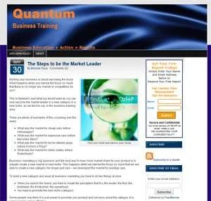Client Spotlight: Quantum Business Training